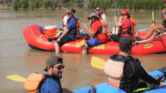 Trip to River Raft near Moab, UT