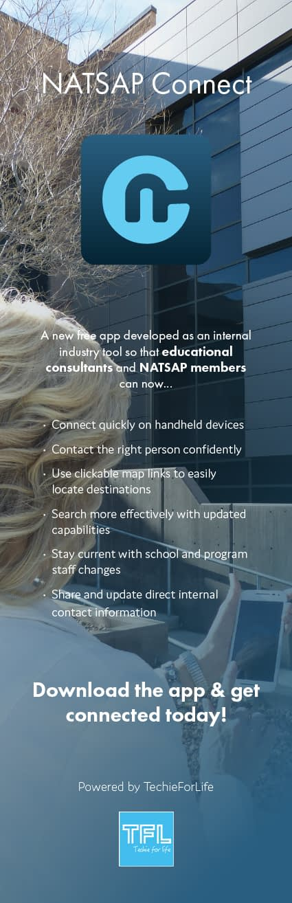 NATSAP Connect app