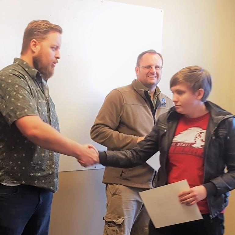 Earn certificates in tech program